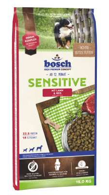 Bosch Sensitive, Lam & Ris  3 kg, 15 kg, 1 kg