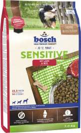 bosch Sensitive, Lam & Ris  3 kg