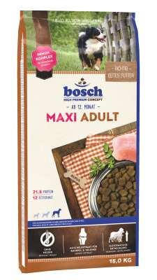 Bosch High Premium Concept - Maxi Adult  15 kg, 3 kg