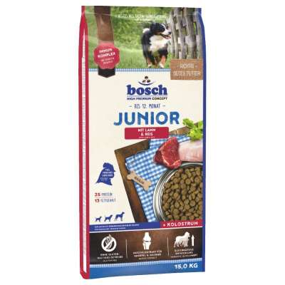 bosch High Premium Concept - Junior con Cordero & Arroz 15 kg