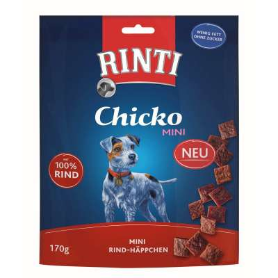 Rinti Chicko Mini Snacks de Vaca 170 g