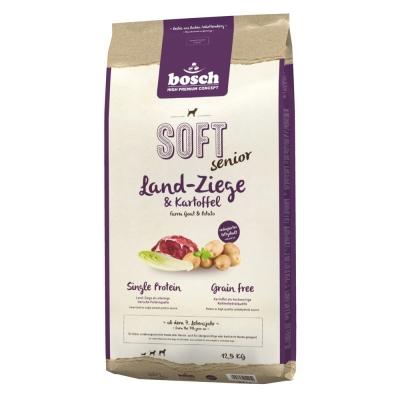 Bosch Soft Senior Geit & Aardappel Hondenvoer  2.5 kg, 12.5 kg, 1 kg