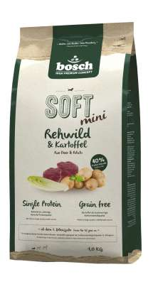 Bosch Soft Mini - Roe Deer & Potato  2.5 kg, 1 kg