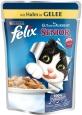 Felix As Good As It Looks Senior with Chicken in Jelly 100 g - Ruokaa varten vanhan kissoille