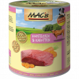 Dog - Kopvlees & Wortelen MAC's 800 g