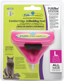 FURminator FURflex Comfort Edge deShedding Head for Cats  L