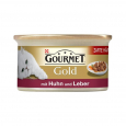 Purina Gourmet Gold - Tender Morcels in Gravy with Chicken & Liver beställ till bra priser