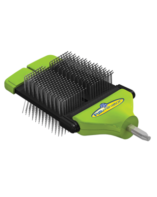 FURminator FURflex Brosse Carde Double Face Lime
