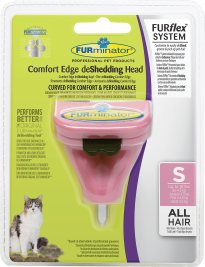 FURminator FURflex Comfort Edge deShedding Head for Cats  S
