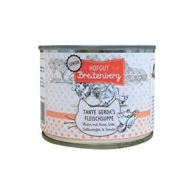Landfleisch Hofgut Breitenberg Senior Chicken with Beef, Duck, Sweet potato & Tomato 180 g