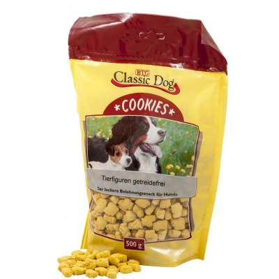 Classic Dog Snack Cookies Animal Figures, Grain-free 500 g Grøntsag