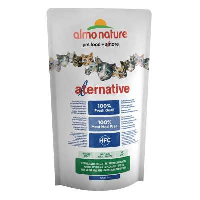Almo Nature Alternative Dry Fresh Quail 2 kg, 750 g