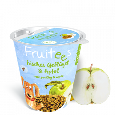 Bosch Finest Snack Concept - Fruitees Pomme Volaille & Pomme 200 g