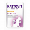 Kattovit Feline Diet Pouch - Sensitive with Chicken&Turkey 85 g