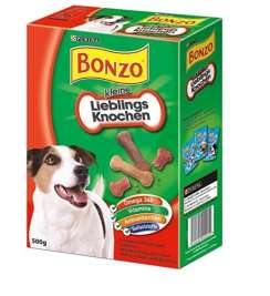 Purina Bonzo Favorite Luista, small  500 g