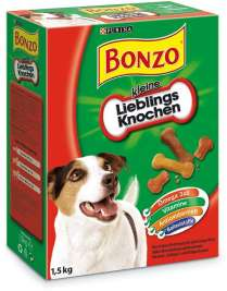 Purina Bonzo Favorite Luista, small  1.5 kg