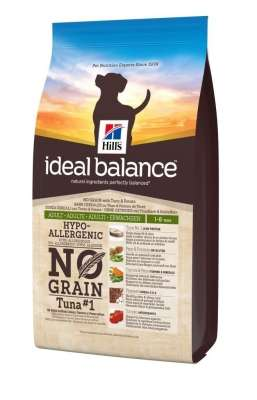 Hill's Ideal Balance Canine - Adult No Grain Thunfisch & Kartoffeln  800 g, 2 kg, 12 kg