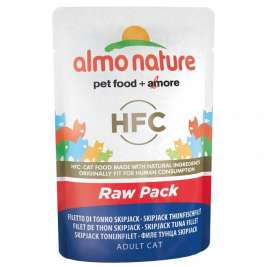 HFC Raw Pack Skipjack Thunfischfilet Almo Nature  8001154126228