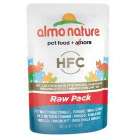 HFC Raw Pack Tonggol Thunfischfilet Almo Nature  8001154126235