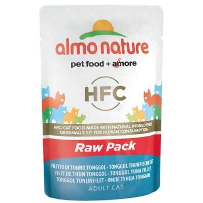 Almo Nature HFC Raw Pack Tonggol Thunfischfilet 55 g