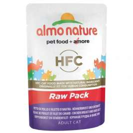 HFC Raw Pack Hühnerbrust und Entenfilet Almo Nature  8001154126242