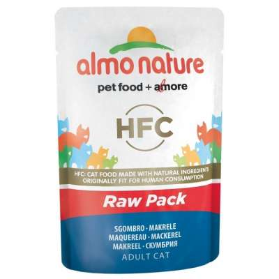 Almo Nature HFC Raw Pack Makrele 55 g