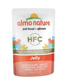 HFC Jelly Lachsfilet Almo Nature  8001154126198