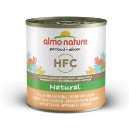 HFC Natural Huhn und Lachs Almo Nature  8001154123777
