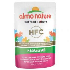 HFC Natural Huhn und Lachs Almo Nature  8001154124408