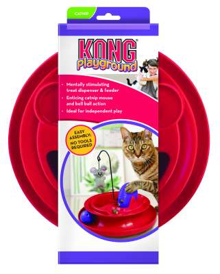KONG Cat Playground Red