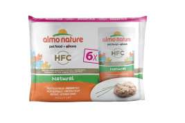 Almo Nature HFC Natural cu Fileu de Pui  6x55 g