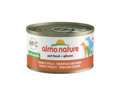 Almo Nature HFC Natural Tuna and Chicken  95 g, 290 g, 280 g