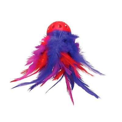 KONG Mega Feather Ball Multicolor