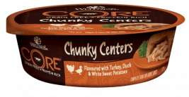 Core Chunky Centers à la Dinde, Canard & Patata Douce Blanche Barquette Wellness 0076344115427