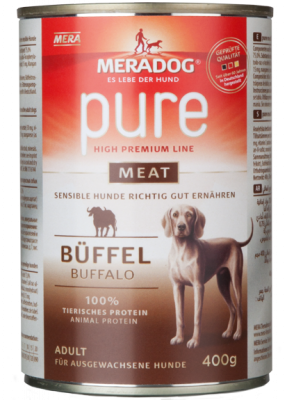 Meradog Pure Meat- Buffalo  400 g