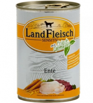 Landfleisch Sensitive Duck  12x400 g, 400 g