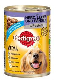 Heart, Liver and Tripe in Pate Pedigree 4008429055959