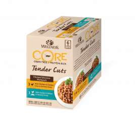 Core Tender Cuts Huhn Selection Multipack Pouchbeutel von Wellness 6x85 g EAN: 0076344106661