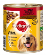 Pedigree Juicy Slices Beef, Vegetables and Noodles 800 g Billig