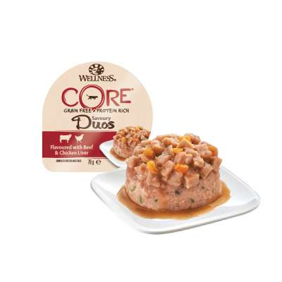 Wellness Tray Core Savoury Duos with Beef & Chicken Liver 79 g