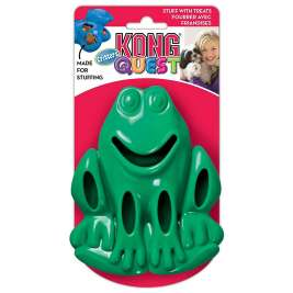KONG Quest Critters Frog  Frog  L