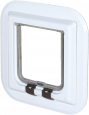Trixie 4-Way Cat Flap especially for Glass 27x27 cm