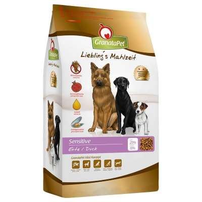 GranataPet Liebling´s Mahlzeit dry food duck Sensitive  4 kg, 10 kg