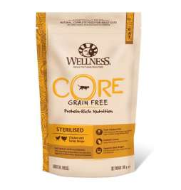 Core Sterilised au Poulet et Dinde Wellness 0076344107255