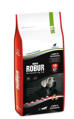 Bozita Robur Light & Sensitive 19/07  4 kg, 12.5 kg, 1.5 kg