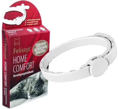 Felisept Home Comfort Calming Collar White 35 cm