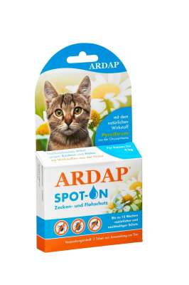 ARDAP Spot-On Protection against Ticks and Fleas for Cats 0.4 ml