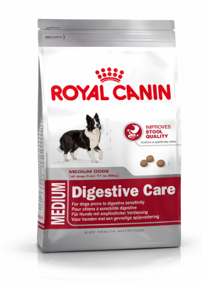 Royal Canin Size Health Nutrition Medium Digestive Care  3 kg, 15 kg