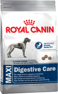 Royal Canin Size Health Nutrition Maxi Digestive Care  15 kg, 3 kg
