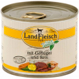 PURE Poultry & Rice extra low-fat with fresh vegetables Can 195 g fra Landfleisch